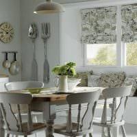 идея использования современных штор в красивом интерьере квартире картинка
