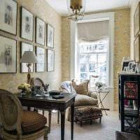 идея применения красивого декора комнаты в стиле ретро картинка