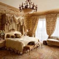 вариант необычного декора квартиры в романском стиле фото