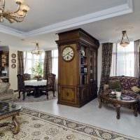 вариант красивого дизайна квартиры в романском стиле картинка