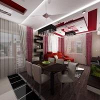 идея светлого интерьера маленькой комнаты фото
