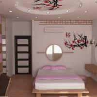 вариант светлого интерьера спальни для девочки в современном стиле фото