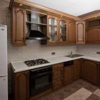 вариант красивого стиля кухни 9 кв.м картинка