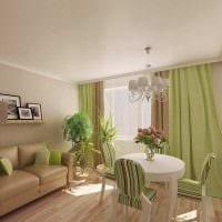 вариант необычного сочетания цвета в дизайне современной квартиры фото