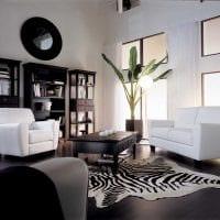 вариант красивого сочетания цвета в интерьере современной комнаты фото