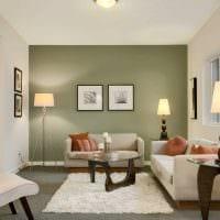 вариант яркого сочетания цвета в интерьере современной комнаты фото