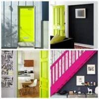 идея светлого сочетания цвета в дизайне современной квартиры картинка