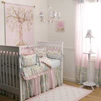 идея светлого дизайна комнаты для девочки 12 кв.м фото