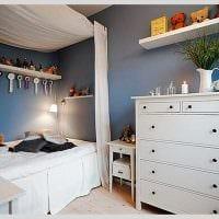 идея красивого декора комнаты в скандинавском стиле фото