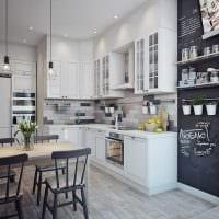 вариант яркого стиля квартиры в скандинавском стиле картинка
