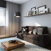 идея светлого дизайна квартиры картинка