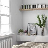 идея необычного интерьера спальни для девочки в современном стиле фото
