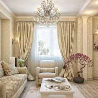 вариант необычного стиля гостиной спальни фото