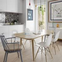 вариант светлого стиля квартиры в скандинавском стиле картинка