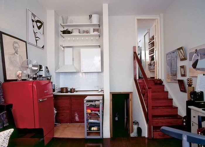 вариант интересного декора комнаты в советском стиле