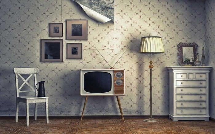 ретро дизайн комнаты картинки становятся настоящим шедевром