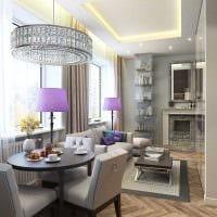 идея необычного дизайна квартиры студии картинка