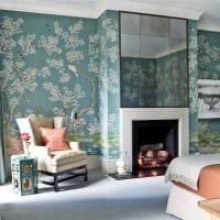 идея яркого стиля спальной комнаты для молодого человека фото