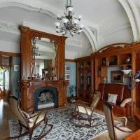 вариант необычного интерьера квартиры в романском стиле фото