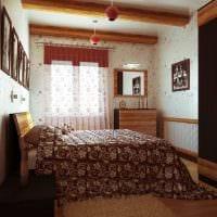 вариант необычного интерьера комнаты в советском стиле фото
