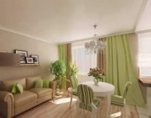 идея необычного сочетания бежевого цвета в дизайне квартиры фото