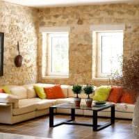 идея необычного сочетания бежевого цвета в интерьере квартиры фото
