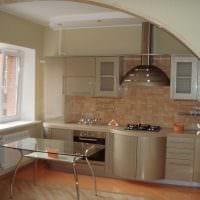 вариант красивого декора двухкомнатной квартиры в хрущевке картинка