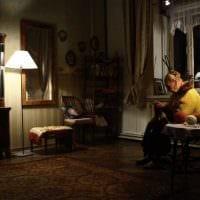 вариант интересного стиля комнаты в советском стиле фото