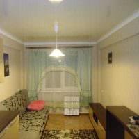 идея яркого стиля небольшой комнаты в общежитии картинка