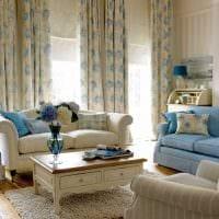 идея использования интересного бежевого цвета в стиле комнаты