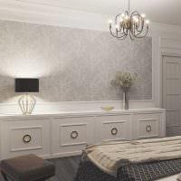 идея применения светового дизайна в красивом интерьере квартиры картинка