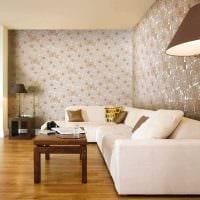 идея необычного стиля гостиной в частном доме картинка