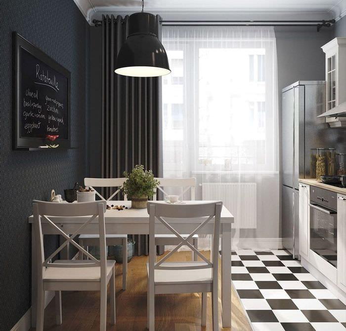 вариант красивого дизайна квартиры в скандинавском стиле