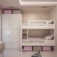 идея яркого дизайна комнаты для девочки 12 кв.м фото