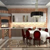 идея яркого интерьера дома в романском стиле картинка