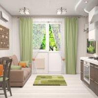 идея светлого стиля двухкомнатной квартиры фото