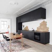 вариант яркого дизайна квартиры в скандинавском стиле фото
