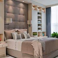 вариант светлого декора маленькой комнаты в общежитии картинка