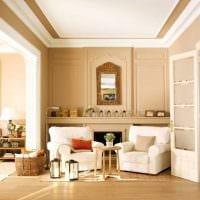 идея красивого сочетания цвета в дизайне современной квартиры картинка