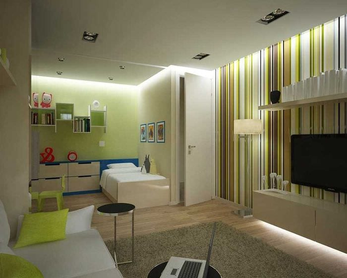 вариант светлого стиля двухкомнатной квартиры в хрущевке