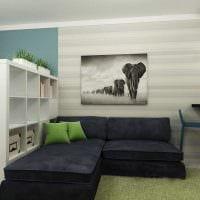 идея красивого декора квартиры студии картинка
