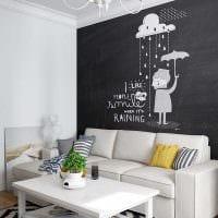 вариант светлого интерьера квартиры в скандинавском стиле картинка