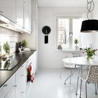 идея необычного стиля квартиры в скандинавском стиле картинка