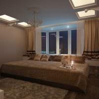 идея яркого стиля спальни для молодого человека фото