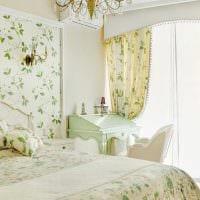 вариант яркого дизайна спальной комнаты для девочки в современном стиле фото
