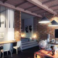 вариант яркого интерьера гостиной в частном доме фото