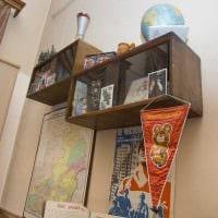 идея необычного дизайна квартиры в советском стиле картинка