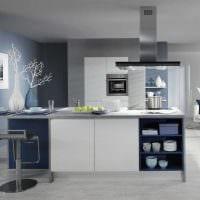 вариант красивого стиля кухни 14 кв.м фото