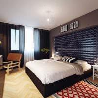 идея светлого дизайна спальной комнаты для молодого человека картинка