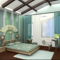идея светлого стиля спальни для молодого человека картинка